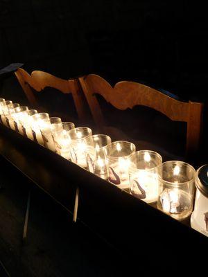 Lumières d'église