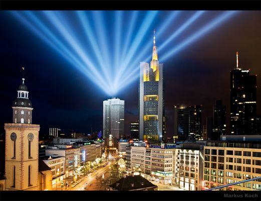 Luminale 2008 #88 Lichtdach Frankfurt - Tor zur Zeil