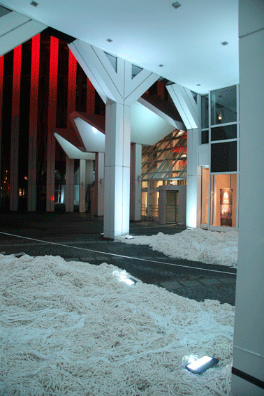 Luminale 2008 - Gebäudeverbindung
