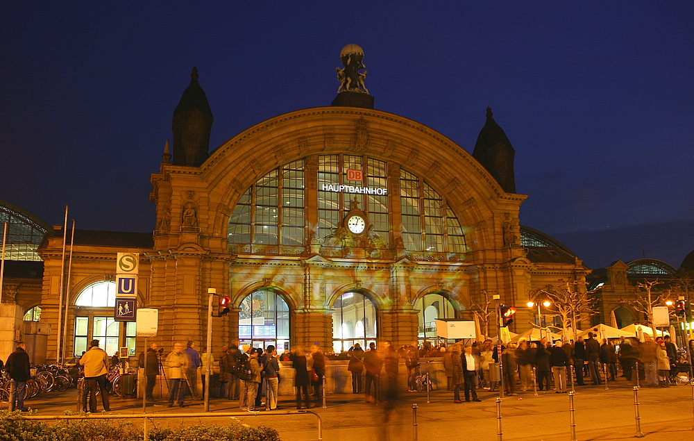 Luminale 2010 , in Frankfurt am Main, Hauptbahnhof