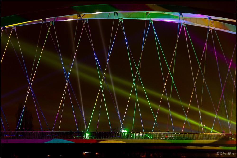 Luminale 2014 - Brückenbogen II