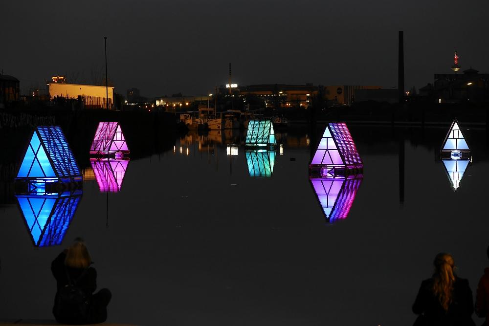 Luminale 2014 im Offenbacher Hafen