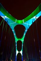 Luminale 2014 Osthafenbrücke, Frankfurt am Main