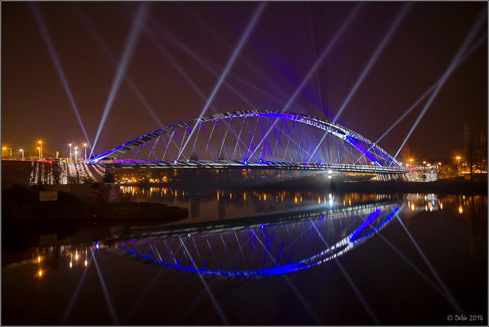 Luminale 2014 - Osthafenbrücke II