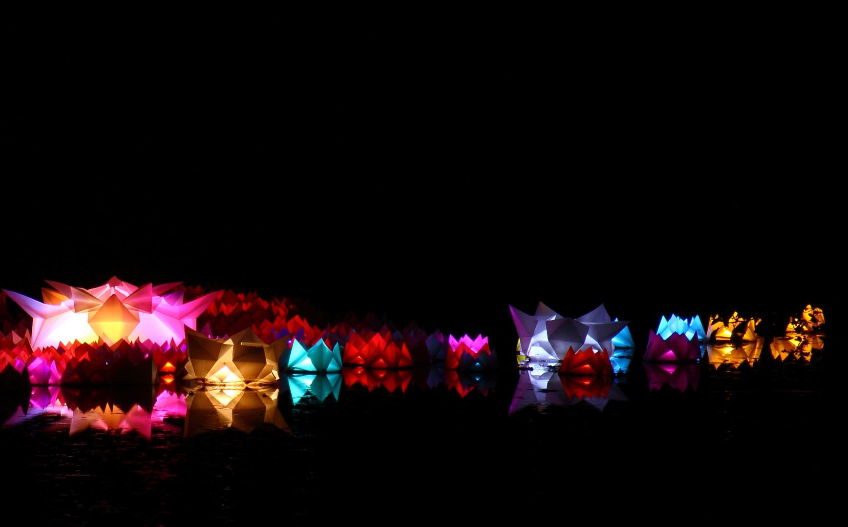 Luminale 2014 Palmengarten Kleiner Weiher