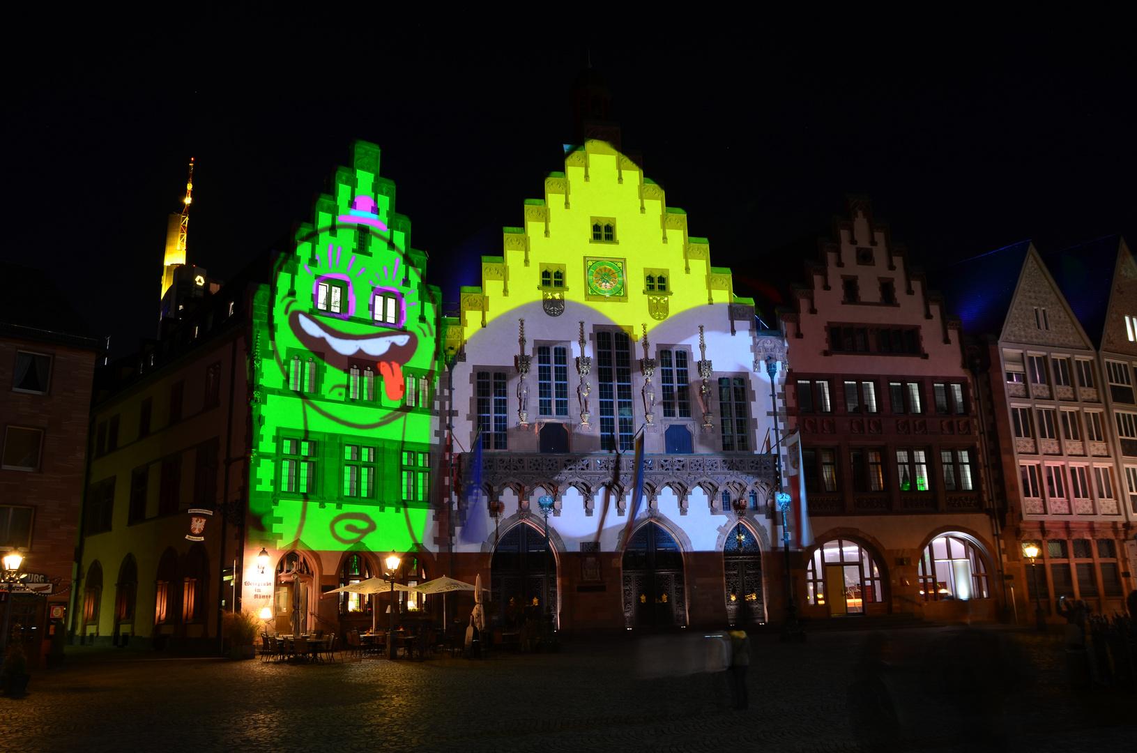 luminale frankfurt am main 2012 der r mer foto bild architektur architektur bei nacht. Black Bedroom Furniture Sets. Home Design Ideas