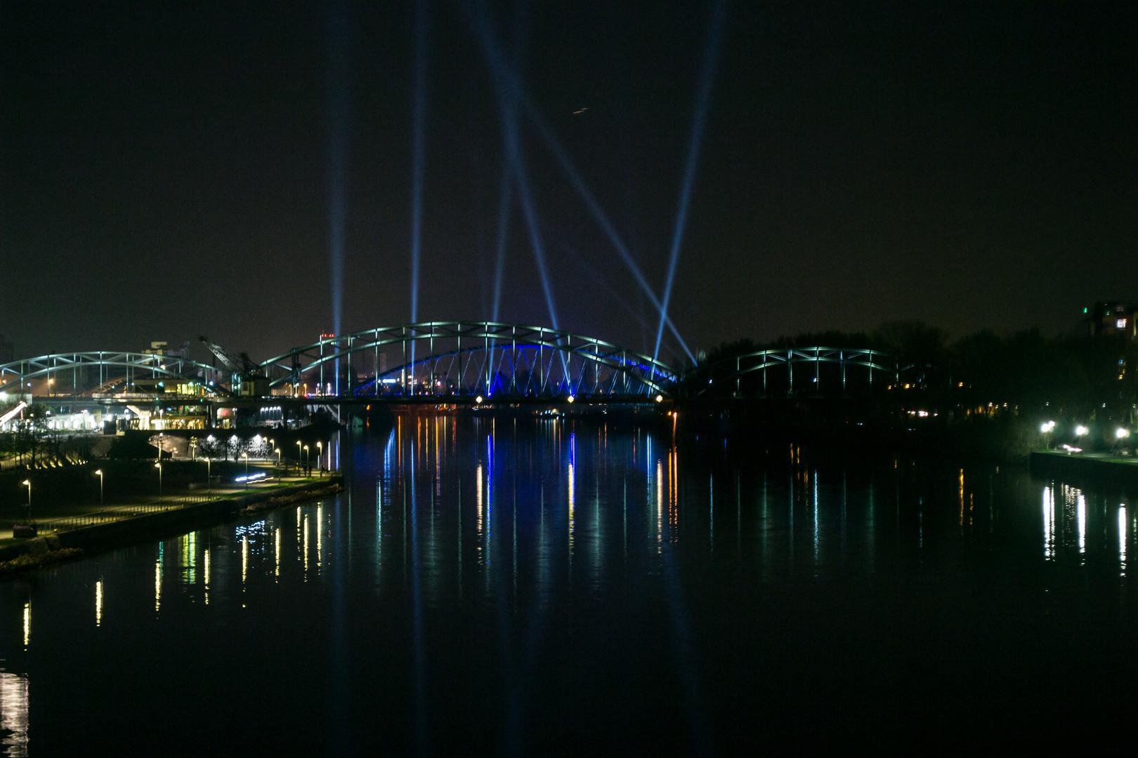 Luminale Ostbrücke Frankfurt