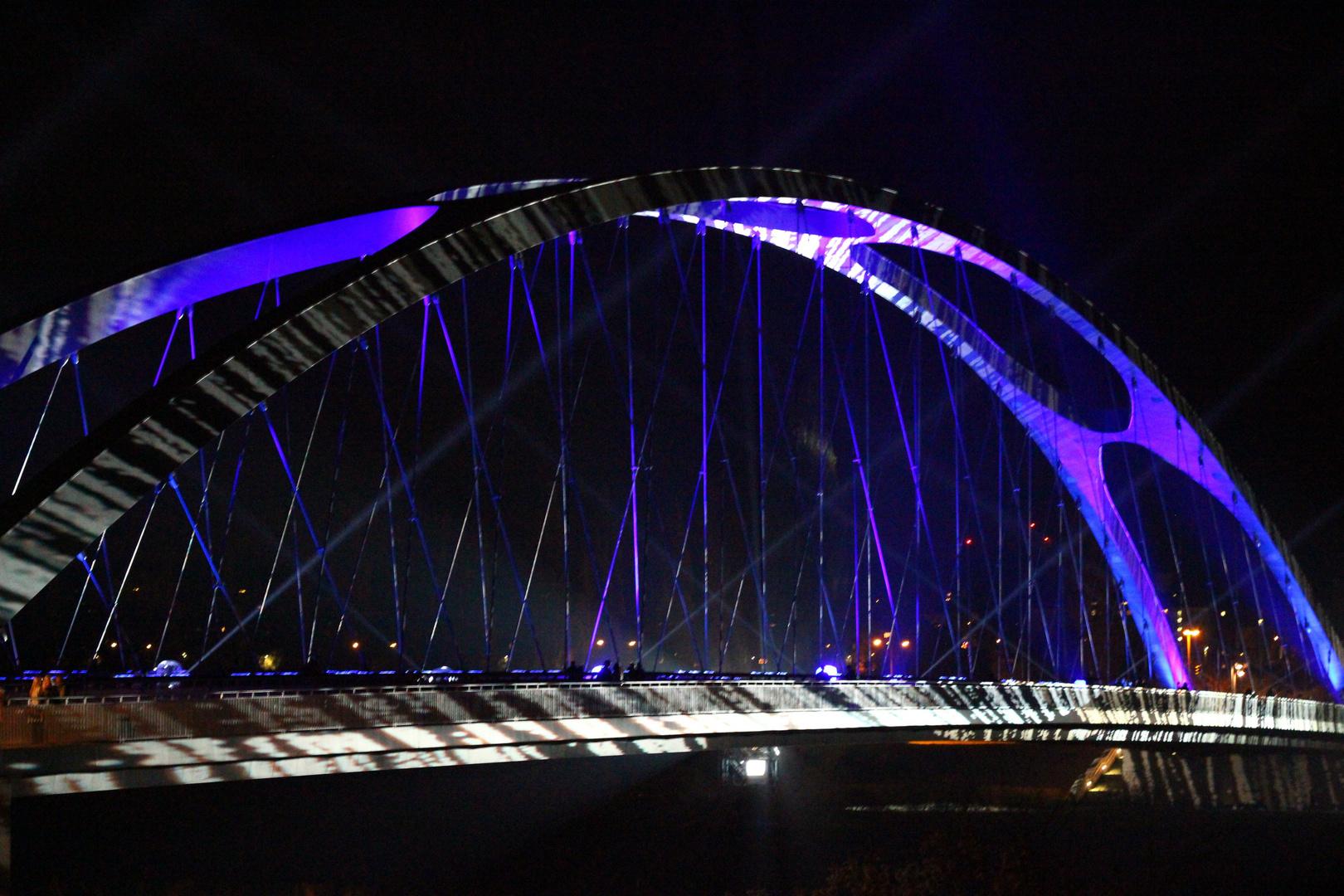 Luminale - Osthafenbrücke
