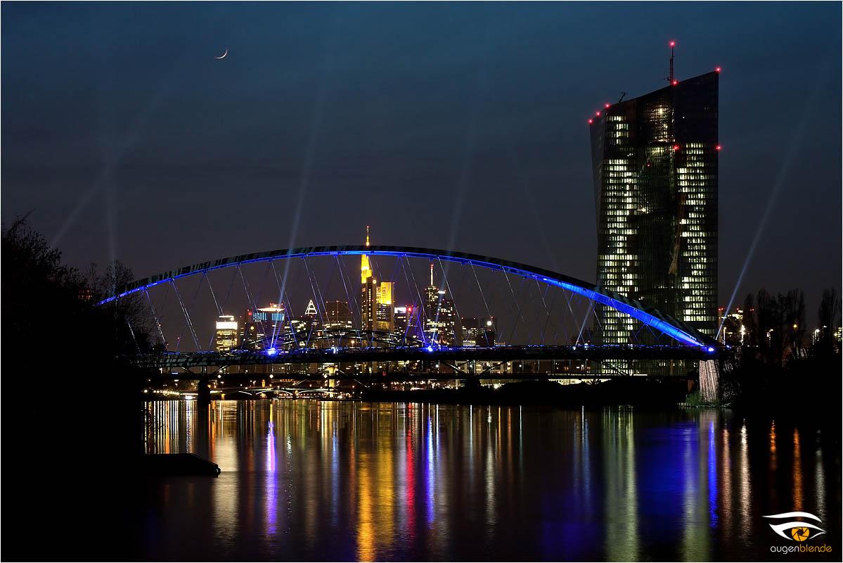 Luminale Osthafenbrücke