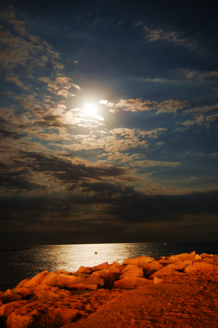 luna de media noche