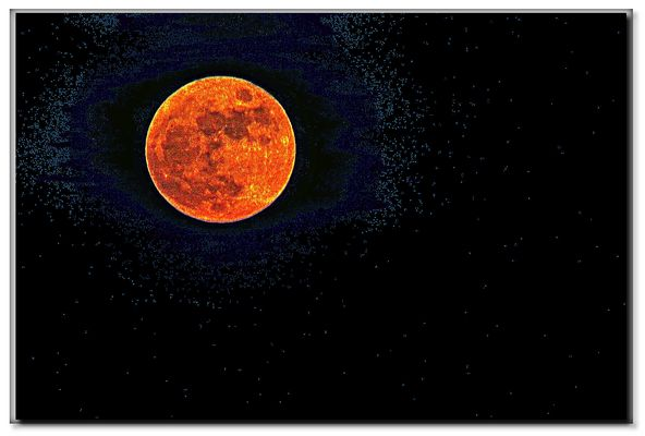 luna del 25 dicembre 2015, 18 h. lucca