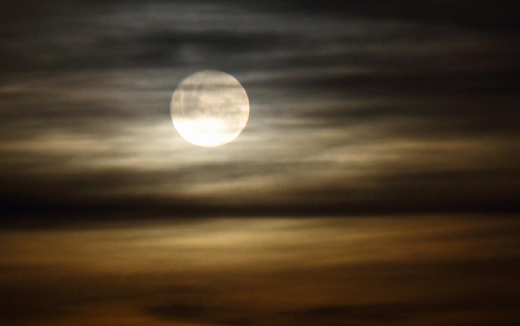 Luna esquiva