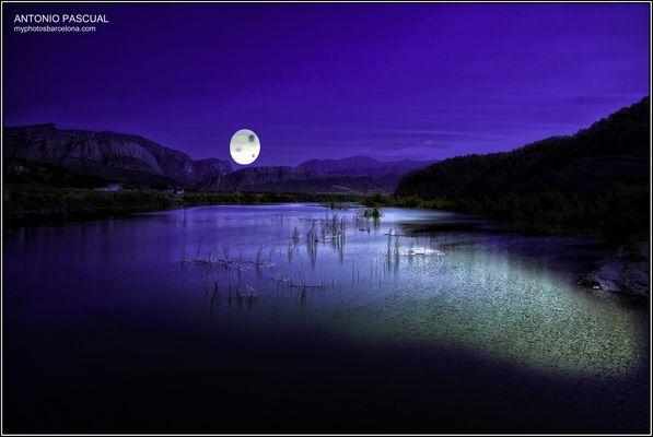 Luna lunera.....reflejos