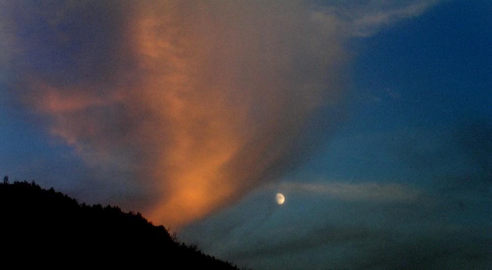 luna sul Soratte