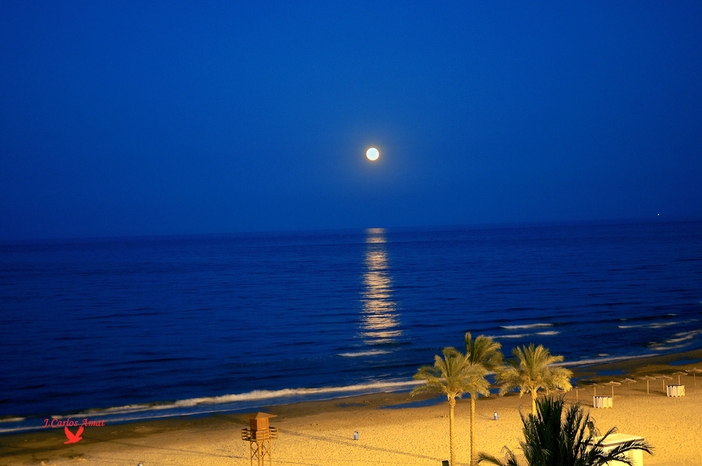 Luna y Mar.