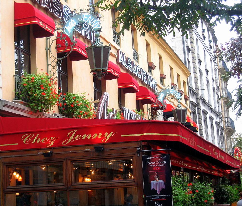 Lunch bei Chez Jenny, Paris
