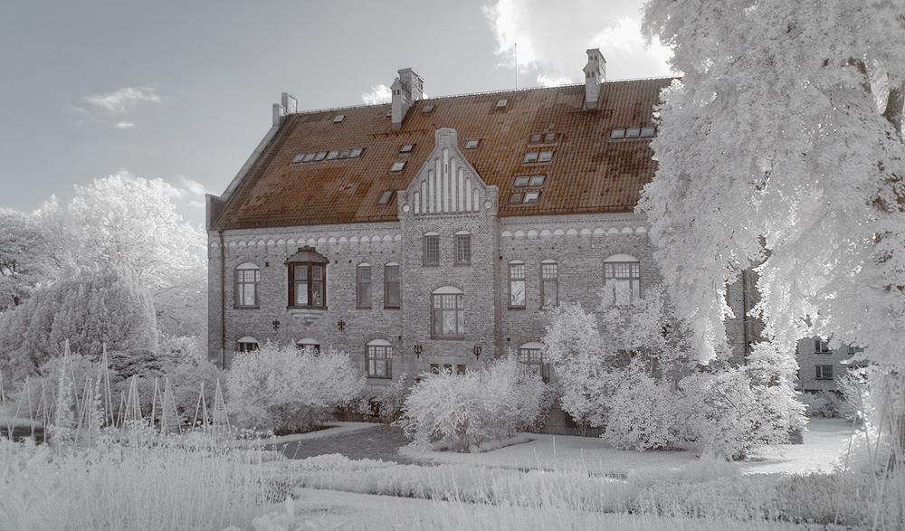 Lund Botanic Garden infrared