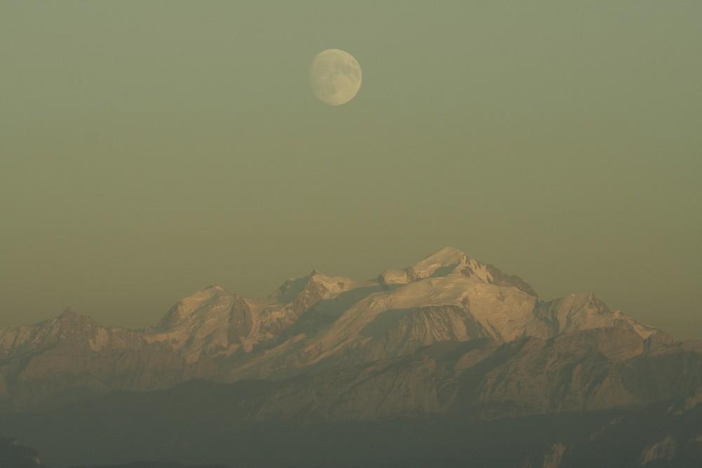 Lune mont-blanc II