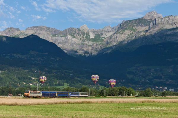 Lunéa et montgolfières