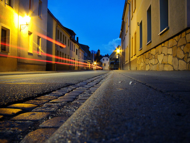 Lunzenauer Strasse in Penig