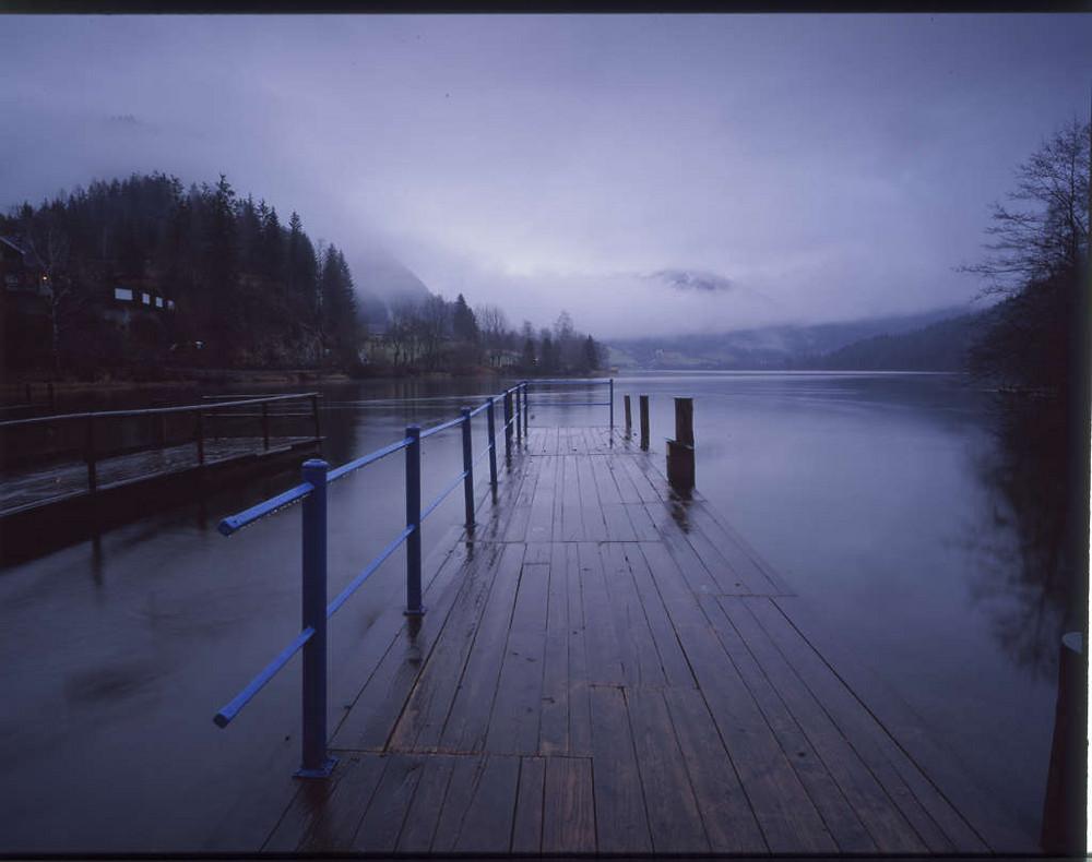Lunzer See im Winter
