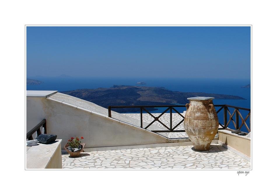 Lust auf Ferien - Santorini