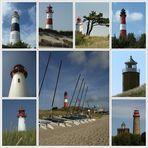 Lust auf Urlaub ?? Leuchttürme von Sylt, Hiddensee und Rügen
