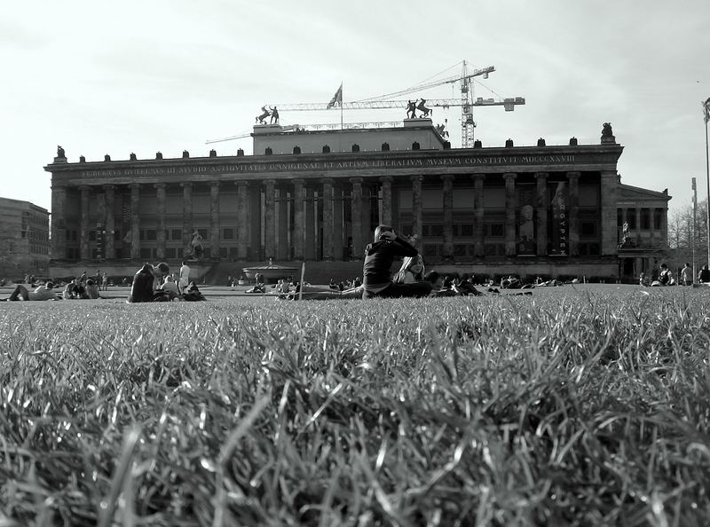 Lustgarten in Front of the Old Museum, Berlin