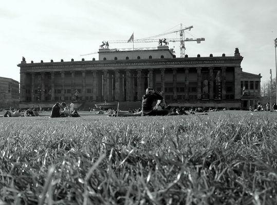 Lustgarten in Front of the Old Museum, Berlin