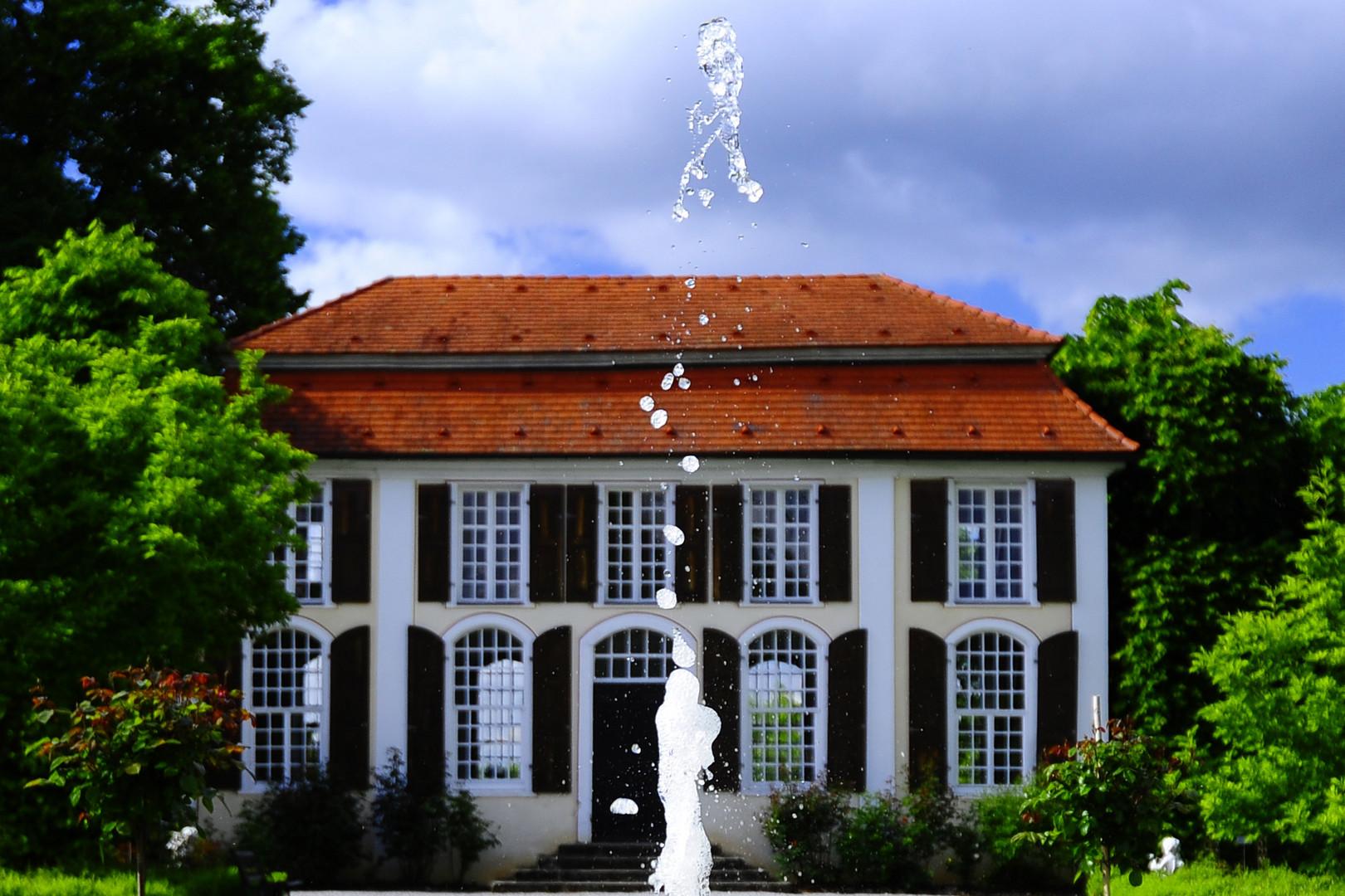 Lusthaus im Heckengarten Hohenstadt