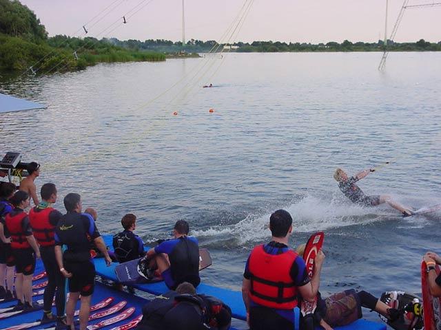 Lusticher Tag im Wasser