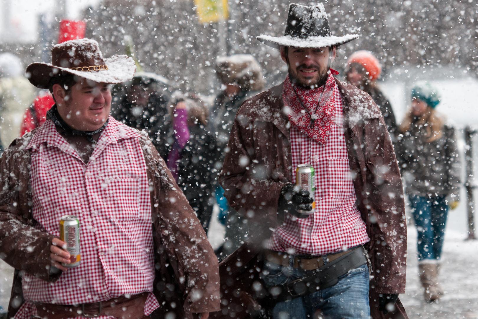 Lustig ist das Cowboyleben