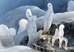 Lustige Eisfigürchen