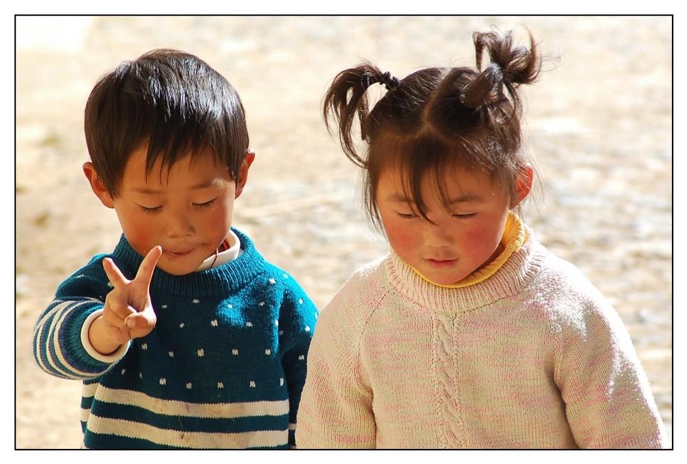 Lustige Kids