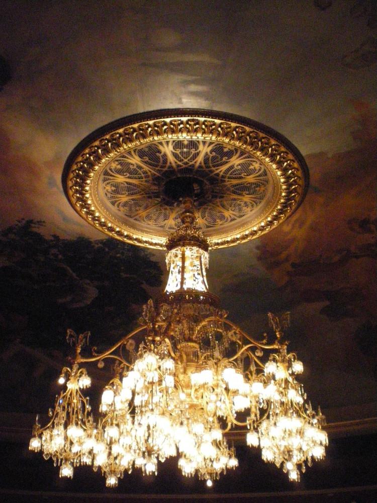 lustre de la Comédie française, fin de séance