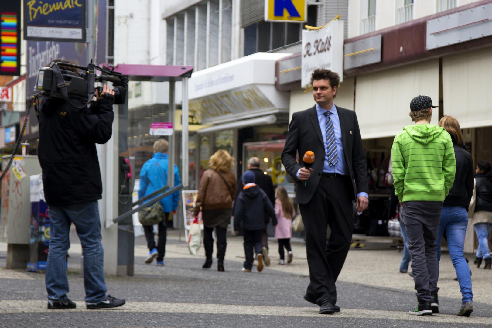 """Lutz van der Horst von der """"Heute Show"""""""