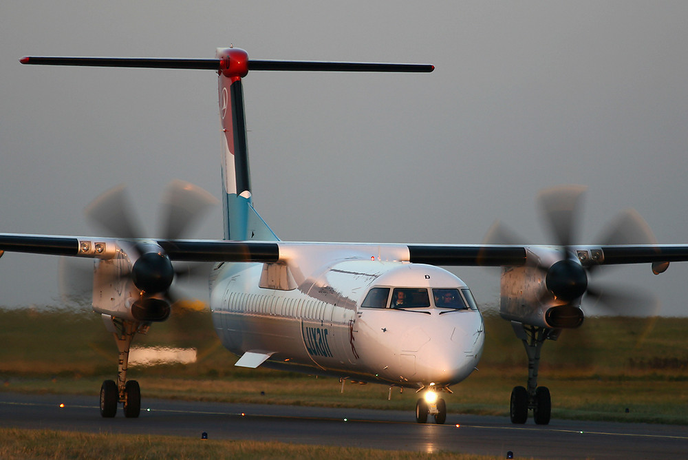 Luxair Dash 8