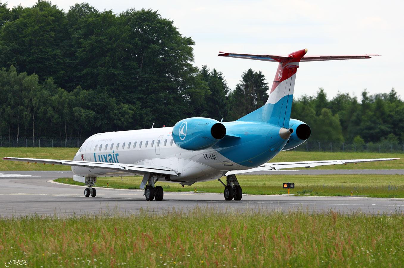 Luxair Embraer EMB-145