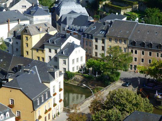 Luxembourg - Grund, la vallée de l'Alzette