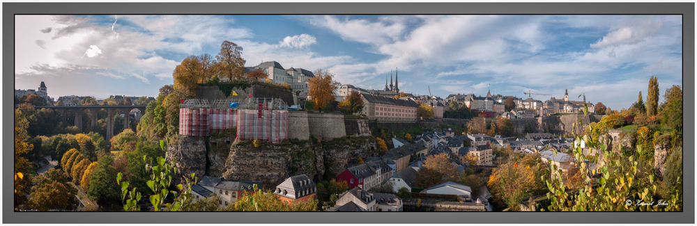 Luxembourg town