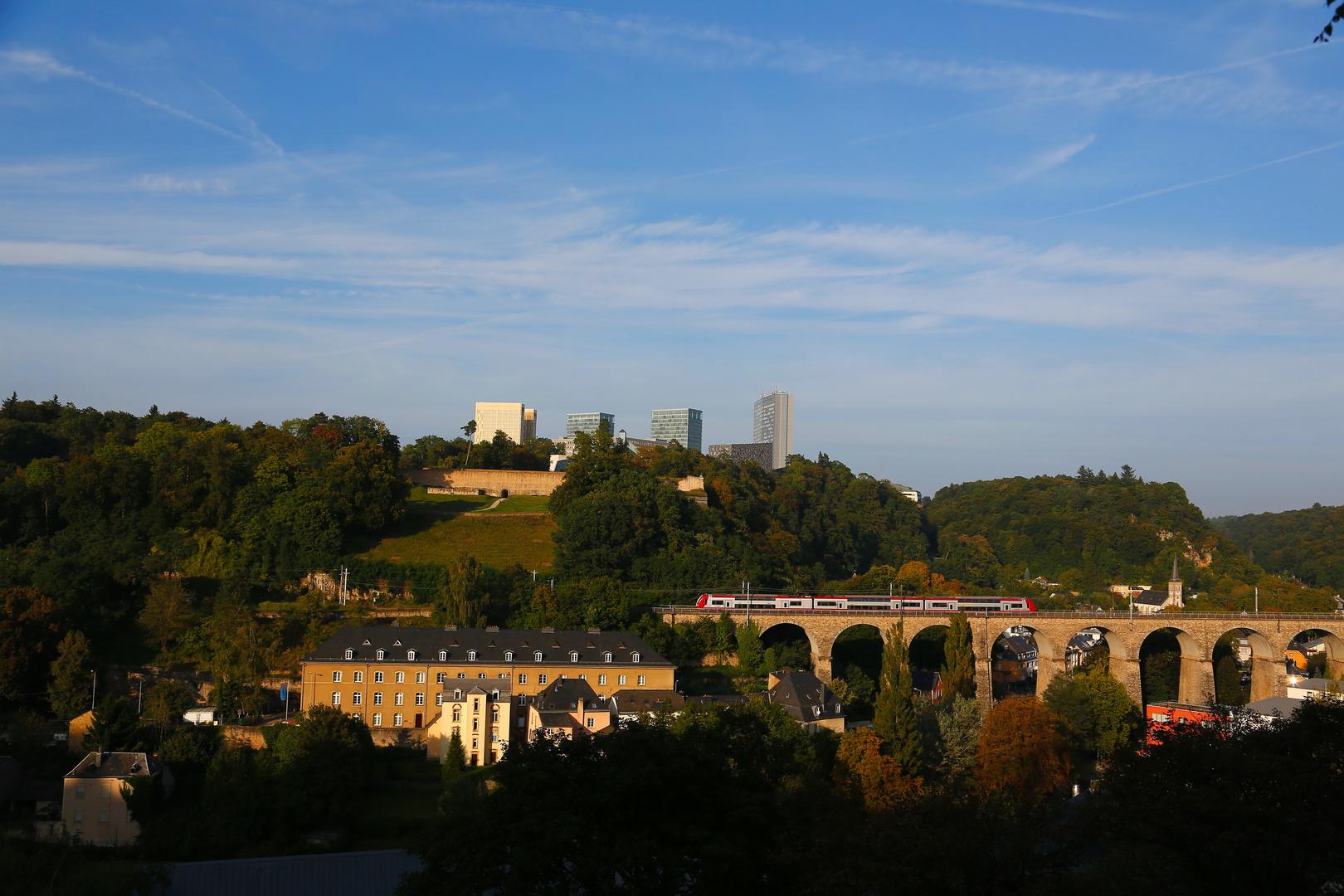 Luxemburg - Kirchbergplateau (I)
