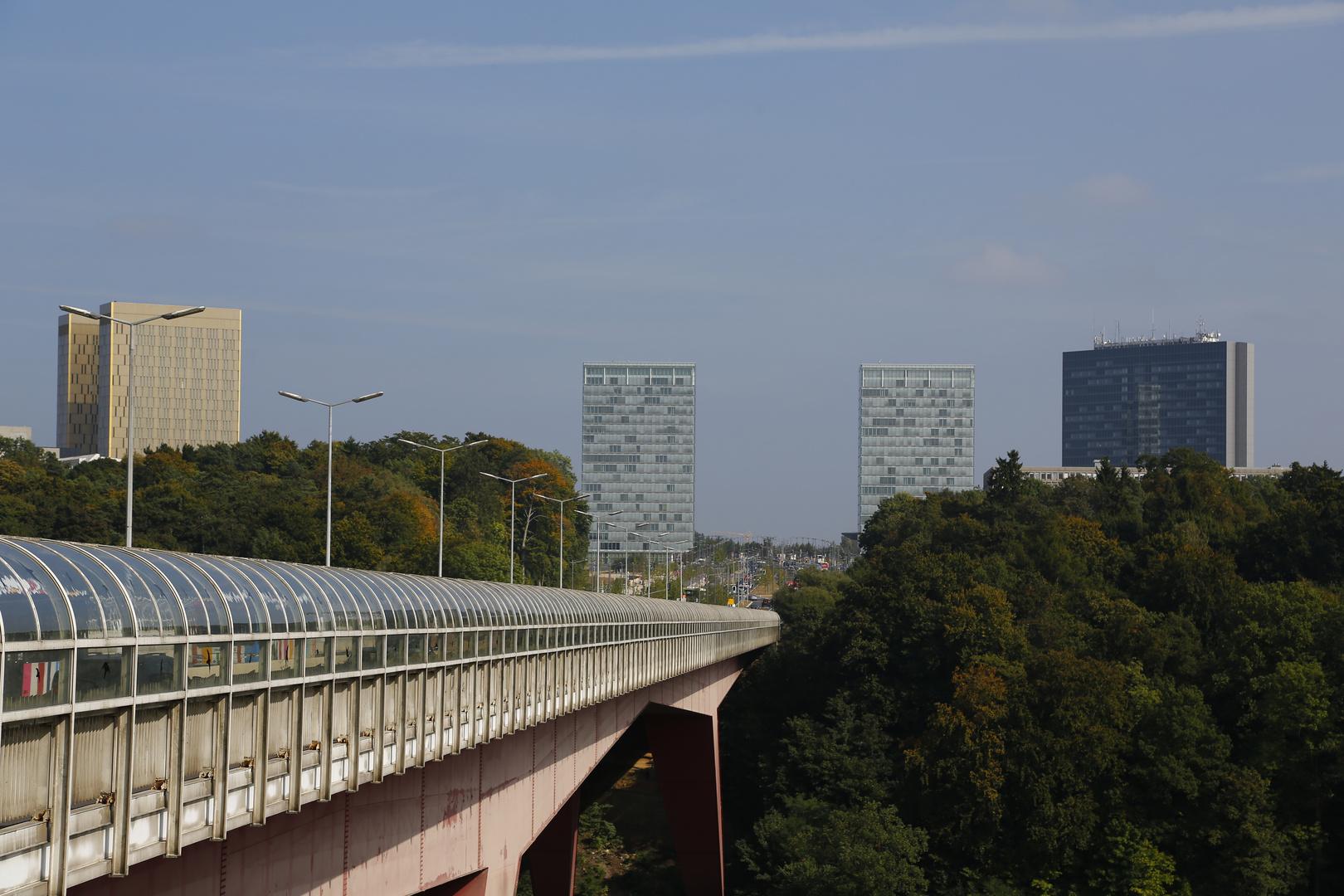 Luxemburg - Kirchbergplateau (II)
