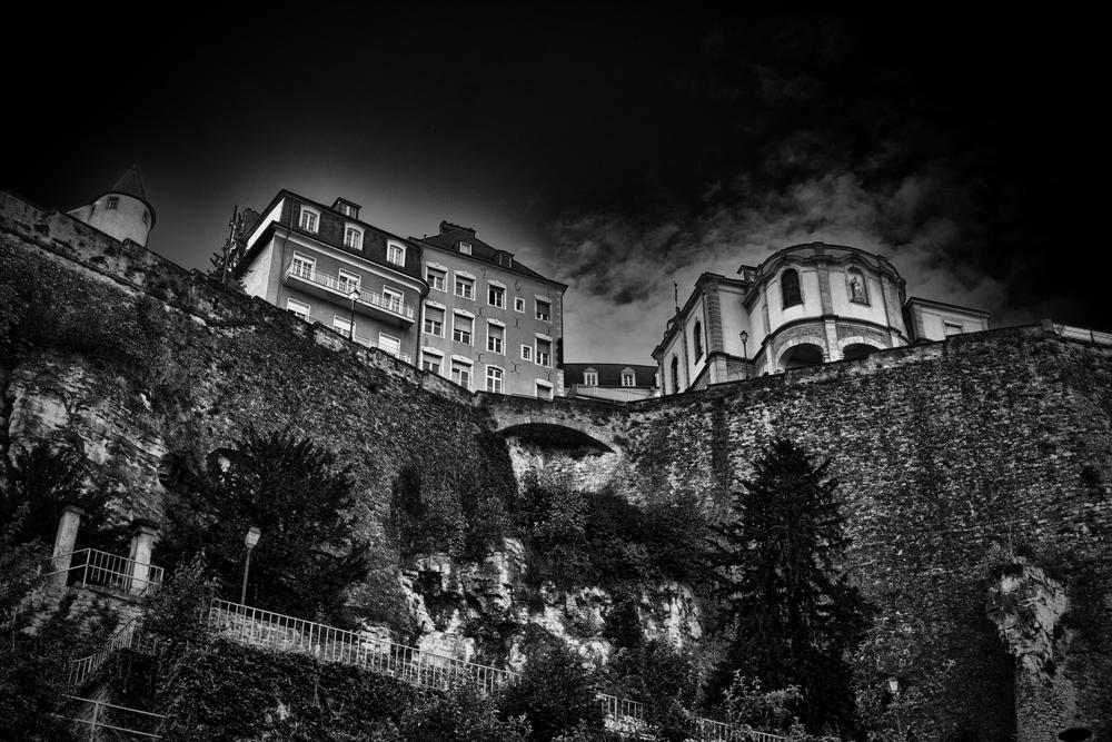 Luxemburg monochrom