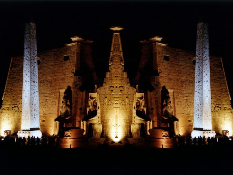 Luxor Reflections