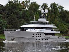 Luxusjacht BIG FISH auf dem NOK