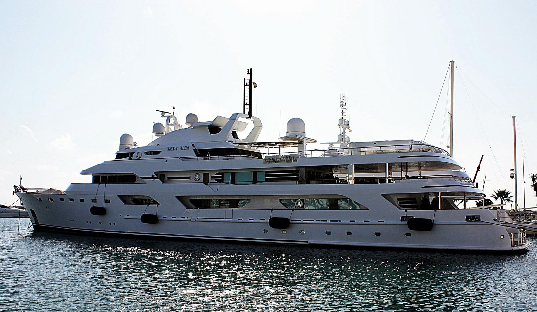 Luxusyacht Lady Haya
