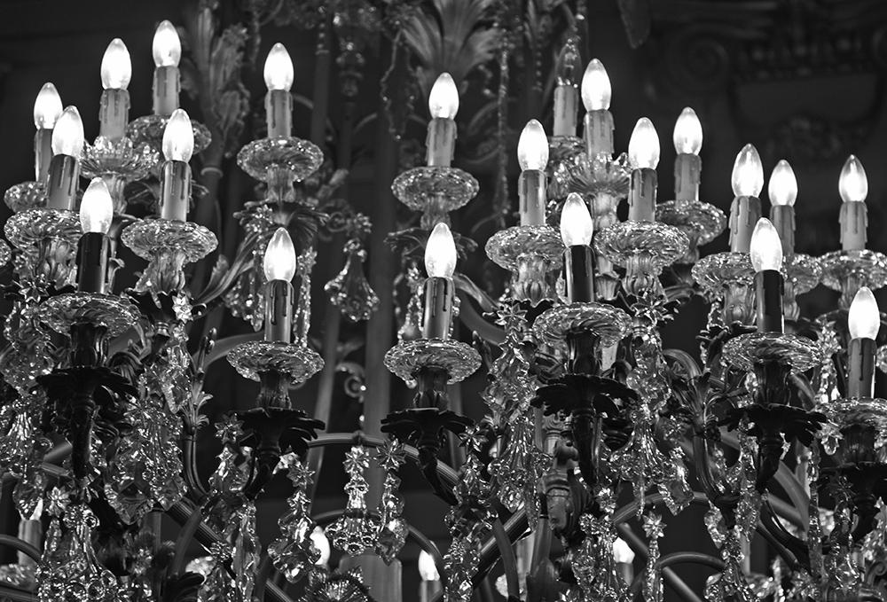 Luz de cristal