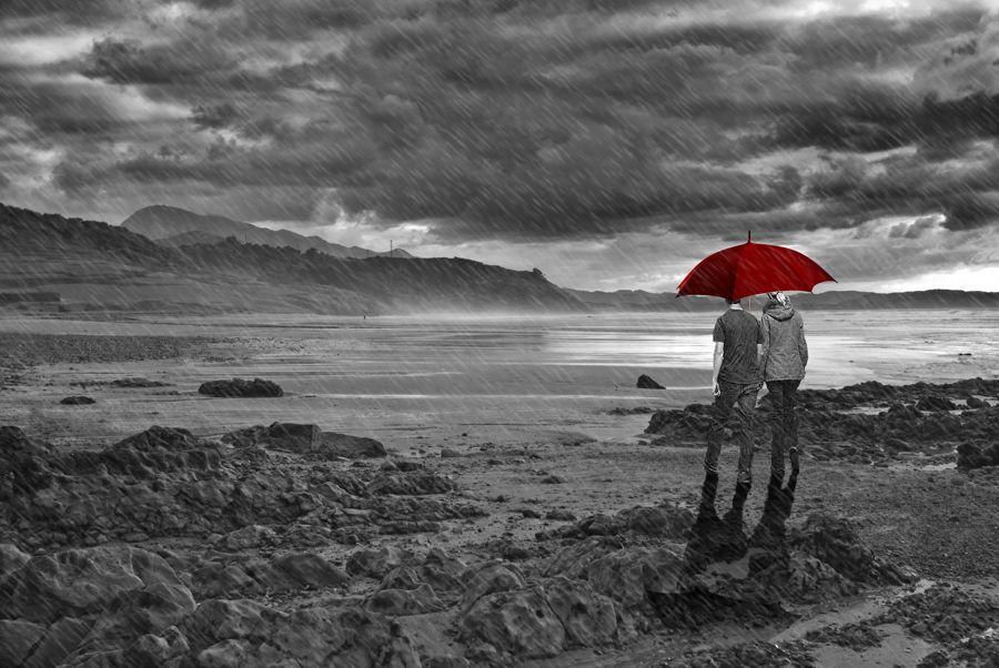 Luz y lluvia