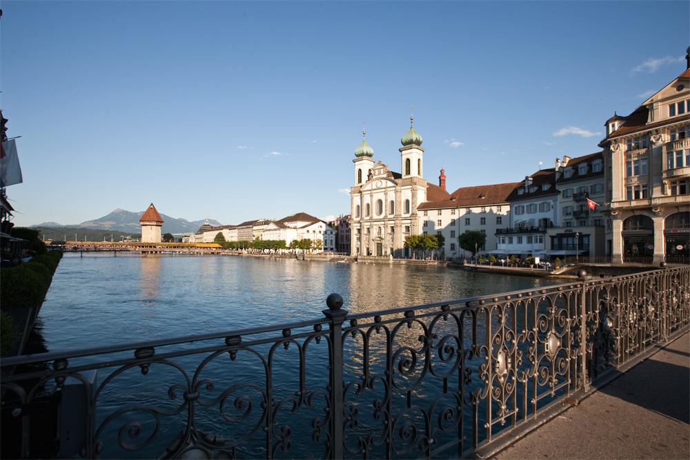 Luzern, vom Reusssteg