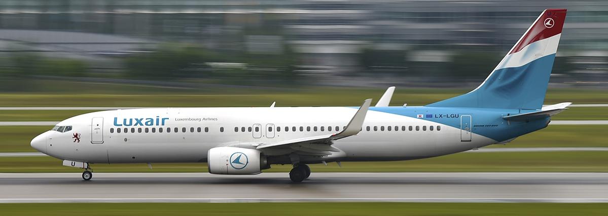 LX-LGU - Luxair - Boeing 737